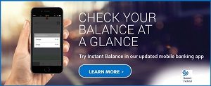 Instant Balance Touch Banking