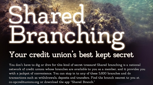 Shared branch flyer