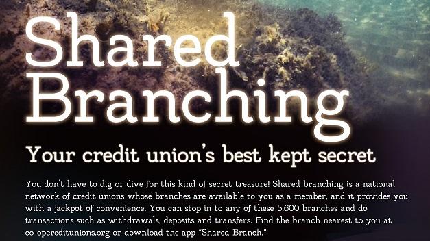 Shared branch flyer